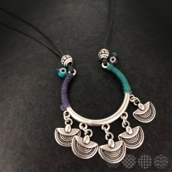 Matakia Necklace | Silver color