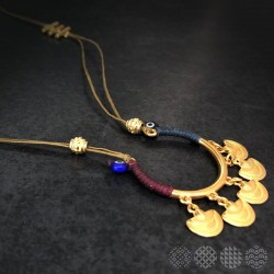 Matakia Necklace | Gold color
