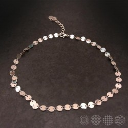 Round Disks Necklace
