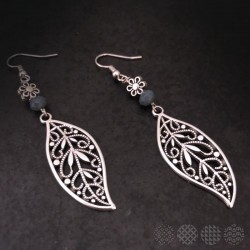 Leaves Earings | Silver Color