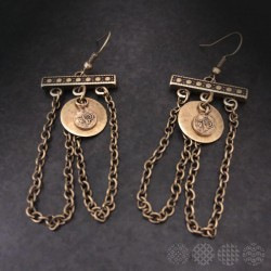 Bridge Earings | Bronze