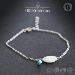Anklet Fish mother of pearls ΓΙΑ ΤΟ ΠΟΔΙ