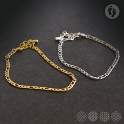 Anklet | Stainless steel chain ΓΙΑ ΤΟ ΠΟΔΙ