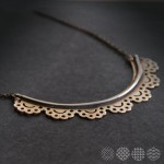 Lace Necklace ΚΟΛΙΕ