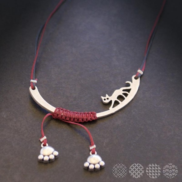 Cat Balance Necklace ΚΟΛΙΕ