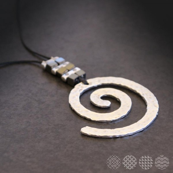 Spiral Necklace ΚΟΛΙΕ