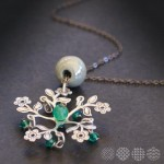 Romantic Flower Necklace ΚΟΛΙΕ