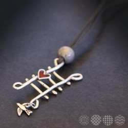 Fly to love Necklace