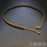 Hematite Necklace | Gold Color ΚΟΛΙΕ