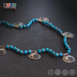 Clap Necklace | Nickel Silver ΚΟΛΙΕ