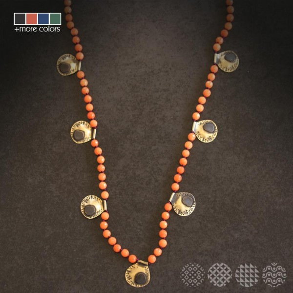 Clap Necklace | Brass ΚΟΛΙΕ