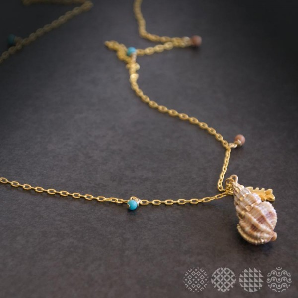 By the sea Necklace ΚΟΛΙΕ
