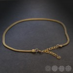 Snake Necklace | Brass ΚΟΛΙΕ