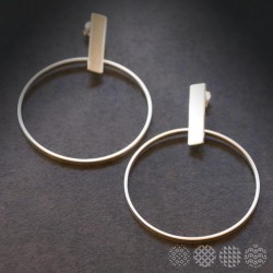 Handmade Hoops | Nickel Silver ΣΚΟΥΛΑΡΙΚΙΑ