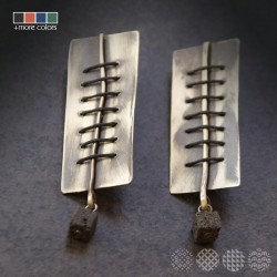 Parallel Earrings | Nickel Sivler ΣΚΟΥΛΑΡΙΚΙΑ