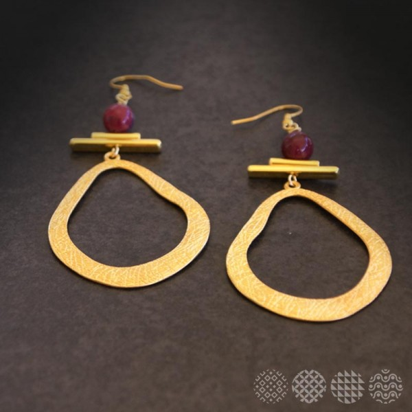 Naxos Earrings | Gold color ΣΚΟΥΛΑΡΙΚΙΑ
