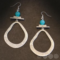 Naxos Earrings | Silver color ΣΚΟΥΛΑΡΙΚΙΑ