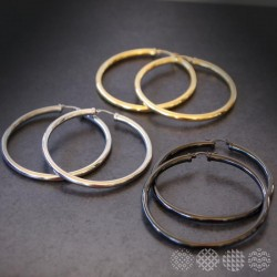 Hoops | Stainless steel