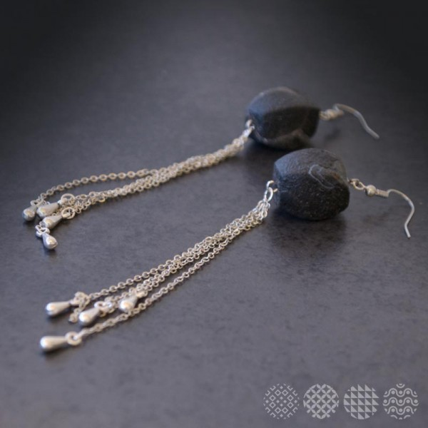 Bell Earrings | Silver color ΣΚΟΥΛΑΡΙΚΙΑ