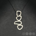Moving Plates Necklace | Nickel Silver ΒΡΑΧΙΟΛΙΑ