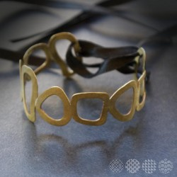 Moving Plates Bracelet | Brass ΒΡΑΧΙΟΛΙΑ