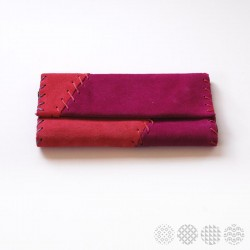 Red & Magenta Leather | Tobacco