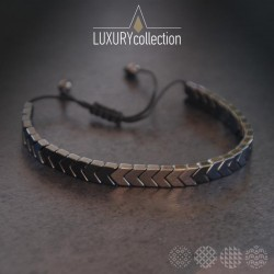Hematite full arrows bracelet ΒΡΑΧΙΟΛΙΑ