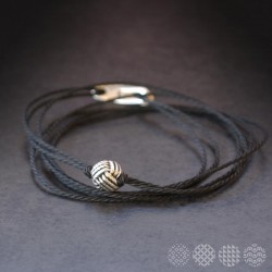 Knot Ball Bracelet | Men's