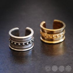 Dotted Line RIng ΔΑΧΤΥΛΙΔΙΑ